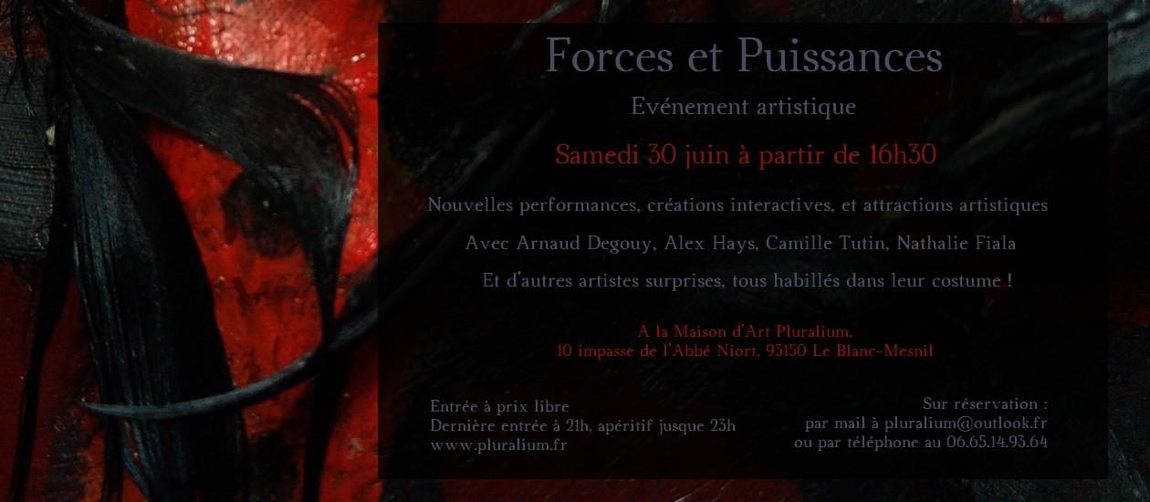 Forces et Puissances, événement artistique